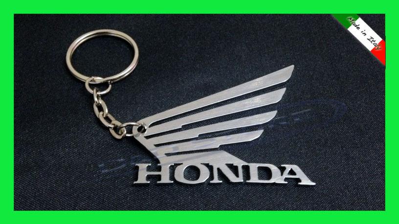 Portachiavi Moto HONDA in ACCIAIO INOX