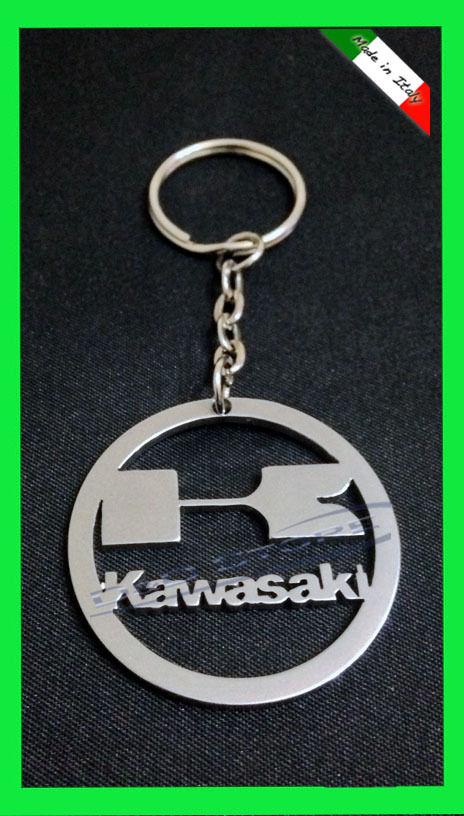 Portachiavi Moto KAWASAKY in ACCIAIO INOX