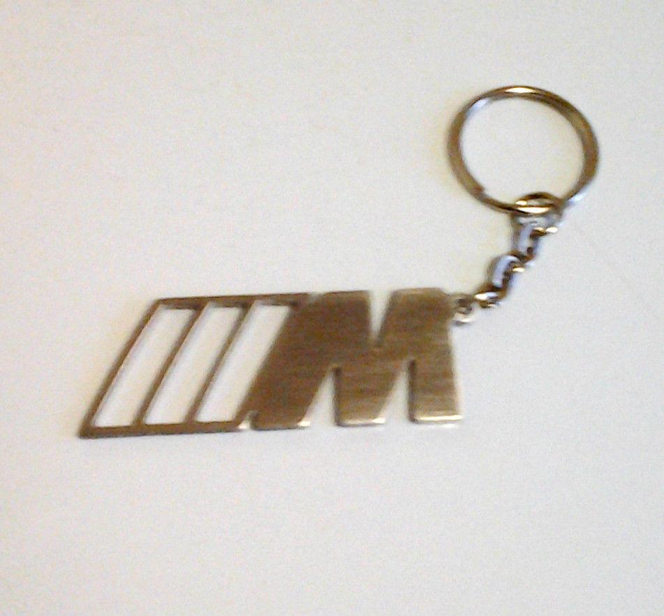 Portachiavi Auto BMW serie M in ACCIAIO INOX