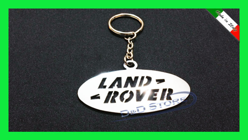 Portachiavi Auto LAND ROVER in ACCIAIO INOX