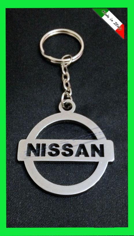 Portachiavi Auto NISSAN in ACCIAIO INOX