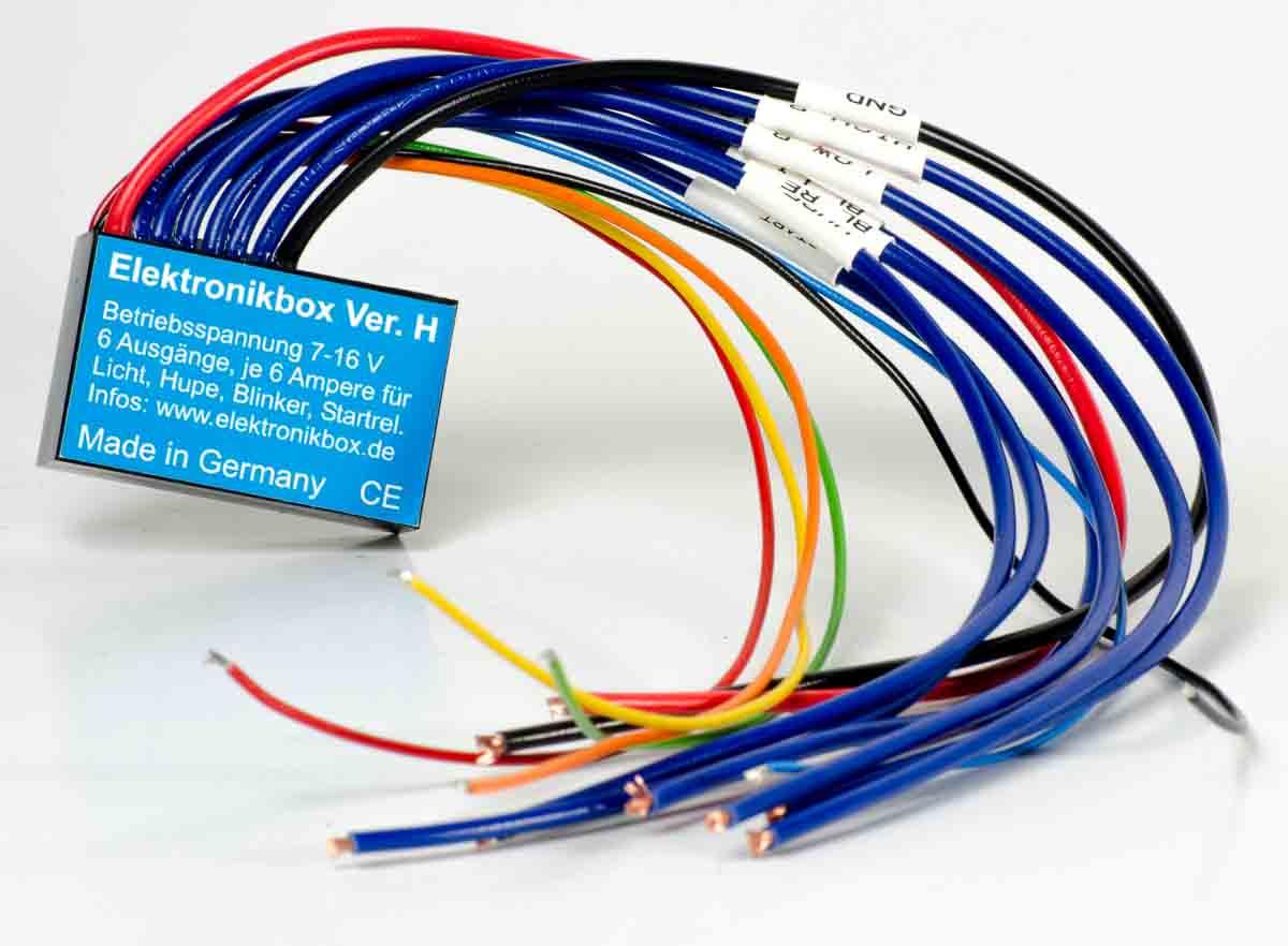 Elektronikbox Ausführung GIB/D