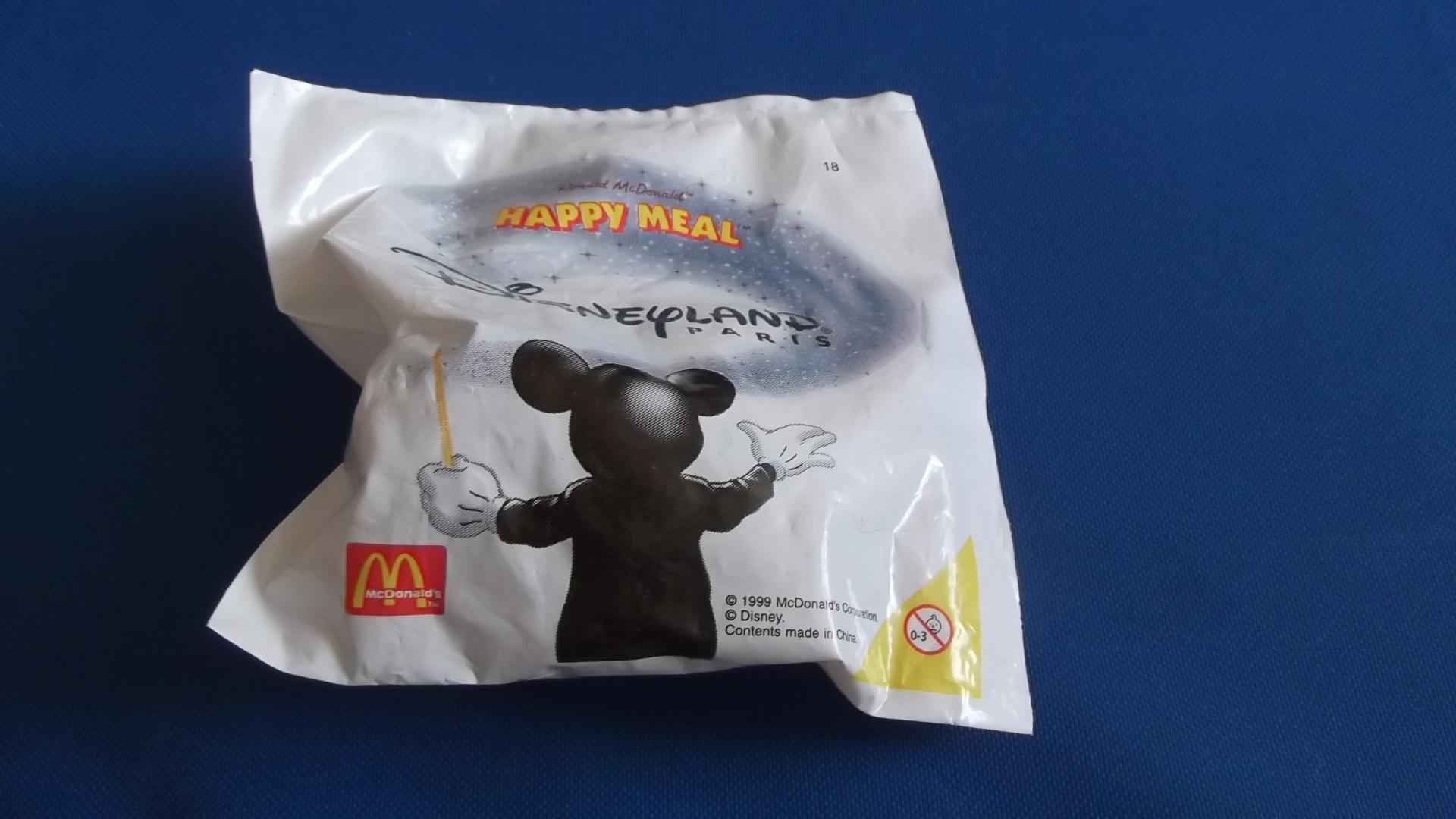 McDonalds Disneyland Paris Train #18 Toy From 1999 New