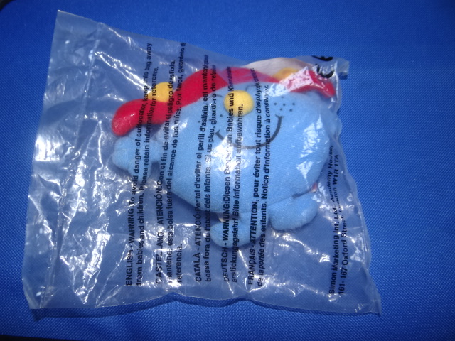 McDonalds Mr Men & Little Miss Little Miss Giggles Toy From 1999 New