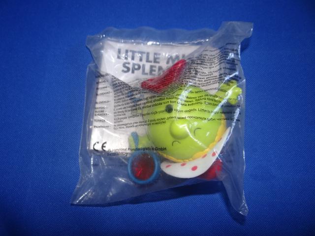 McDonalds Mr Men & Little Miss Little Miss Splendid Toy From 2004 New