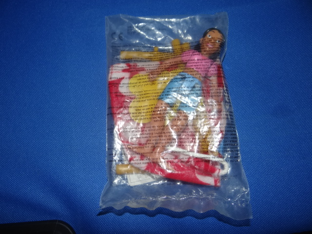 McDonalds Lilo & Stitch Nani Toy From 2002 New