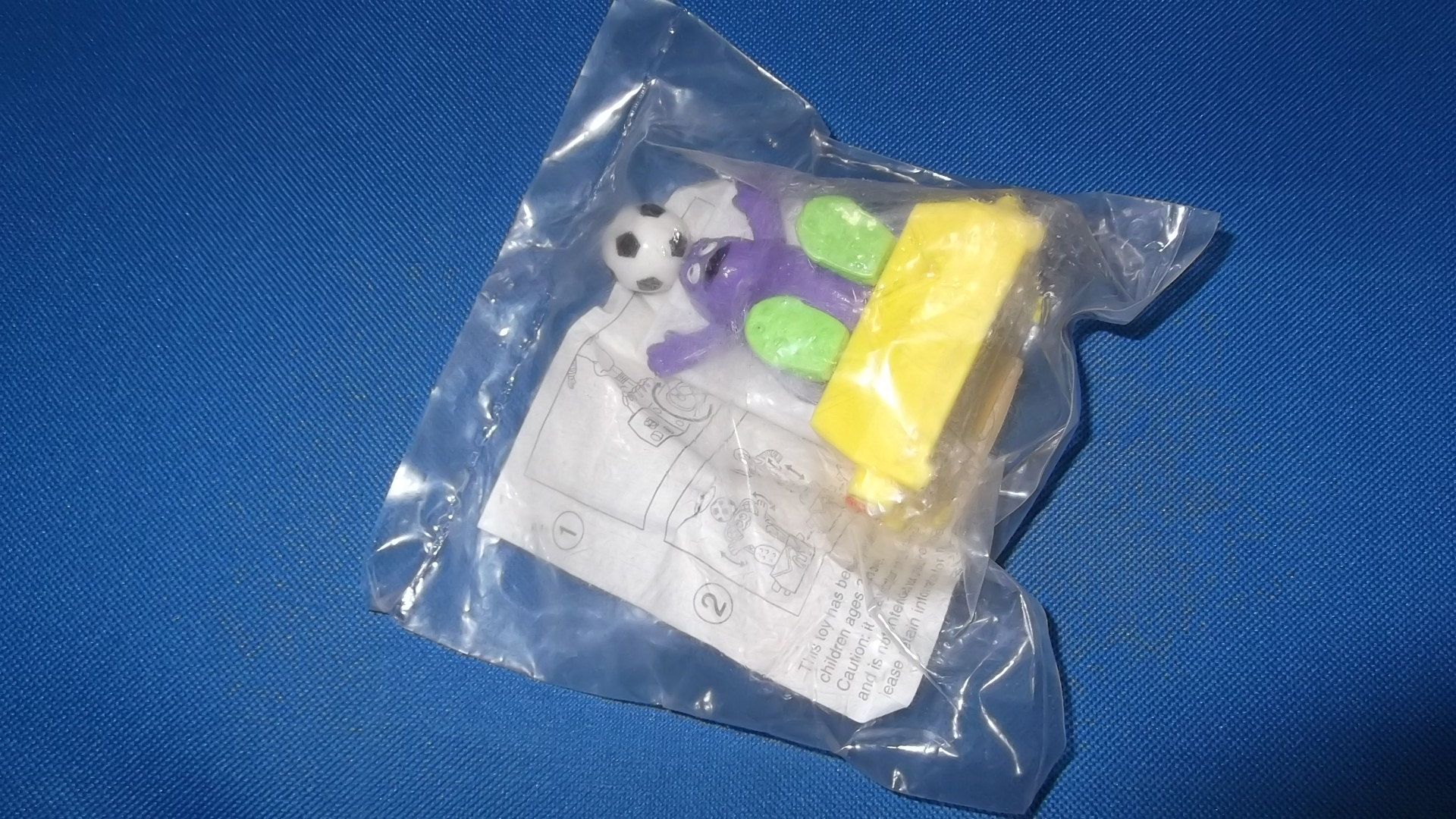 McDonalds Twisting Sports Grimace Toy From 1993 New