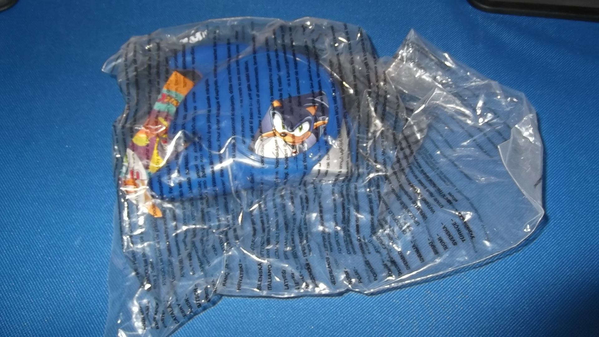 McDonalds Sonic X Sonic Toy From 2006 New