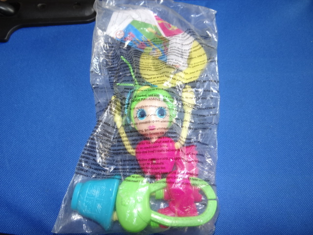 McDonalds Betty Spaghetti Green Haired Doll Toy From 2002 New