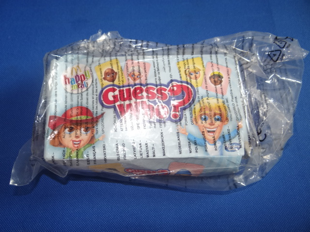McDonalds Hasbro Games Guess Who? Toy From 2015 New
