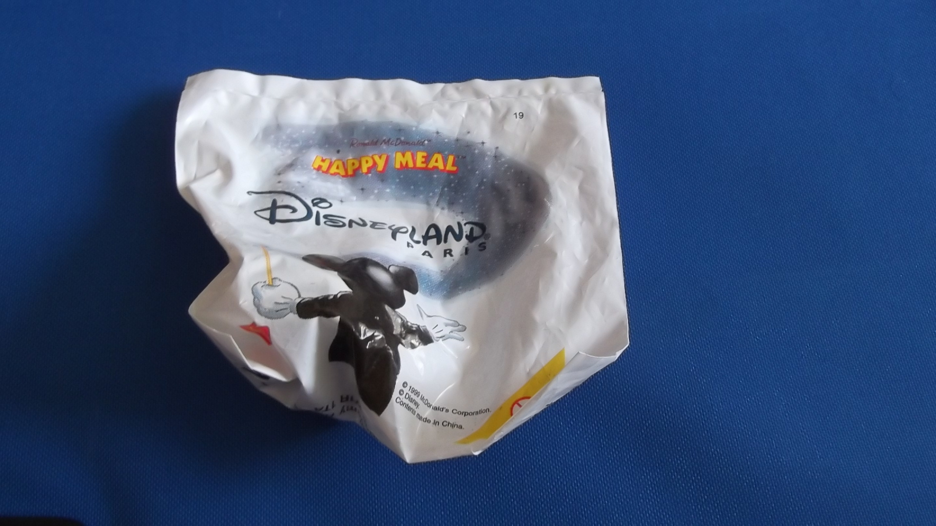 McDonalds Disneyland Paris Train #19 Toy From 1999 New