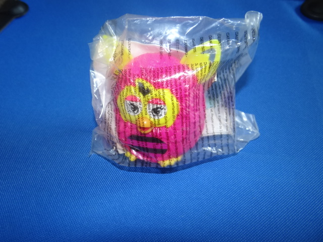 McDonalds Furby Boom Customise Furby Girl - Pink & Yellow Furby Toy From 2013 New