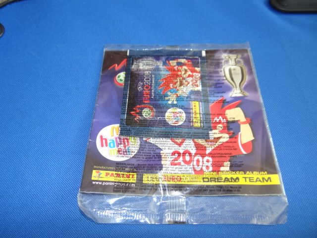 McDonalds Panini Mini Sticker Album UEFA Euro 2008 Sticker Album Toy From 2008 Neww