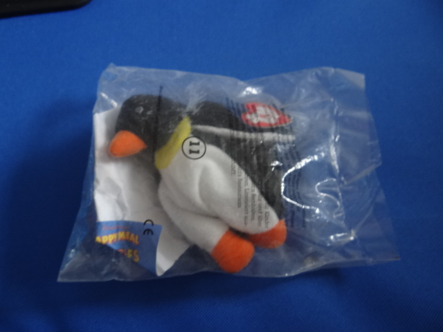 McDonalds TY Teenie Beanie Babies Waddle Toy From 1993 New