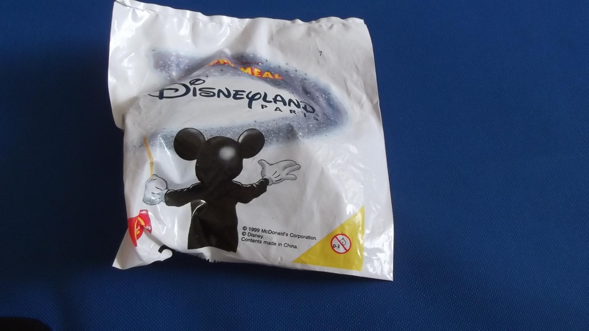 McDonalds Disneyland Paris Train #7 Toy From 1999 New