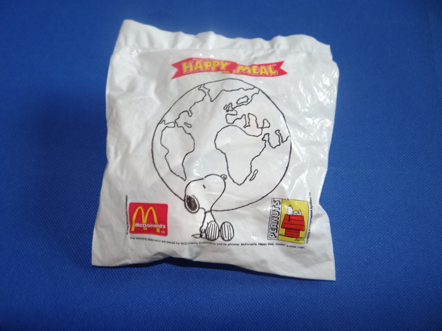 McDonalds Snoopy Around The World Texas Toy From 1999 New