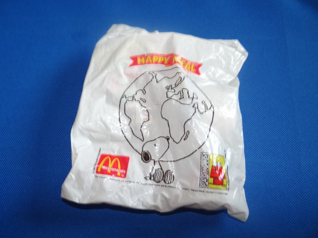 McDonalds Snoopy Around The World Norway Toy From 1999 New