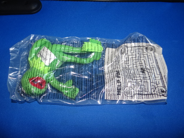 McDonalds The Muppet Show 25 Years Kermit Toy From 2002 New