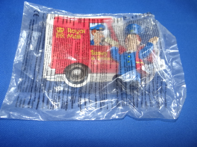 McDonalds TV Characters With Books Postman Pat Toy From 2005 New