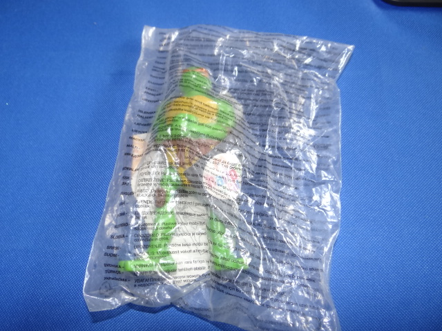 McDonalds Teenage Mutant Ninja Turtles Michelangelo Toy From 2007 New