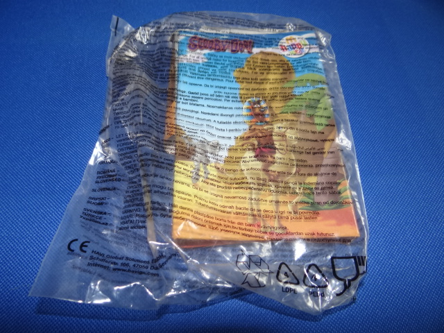 McDonalds Scooby Doo Missing Mummy Mystery Book Toy From 2010 New