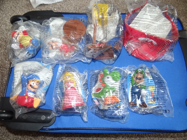 McDonalds Super Mario Full Set From 2015 New