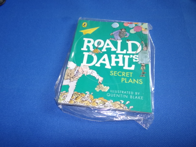 McDonalds Roald Dahl's Secret Plans Book Toy From 2015 New