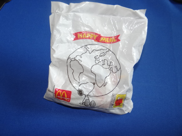 McDonalds Snoopy Around The World Taiwan Toy From 1999 New