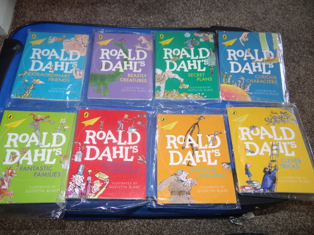 McDonalds Roald Dahl Books Full Set From 2015 New