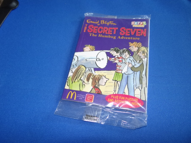 McDonalds The Secret Seven The Humbug Adventure Book Toy From 2014 New