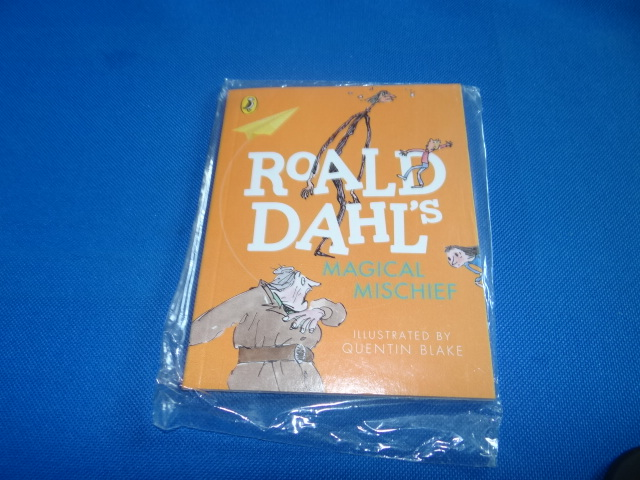 McDonalds Roald Dahl's Magical Mischief Book Toy From 2015 New
