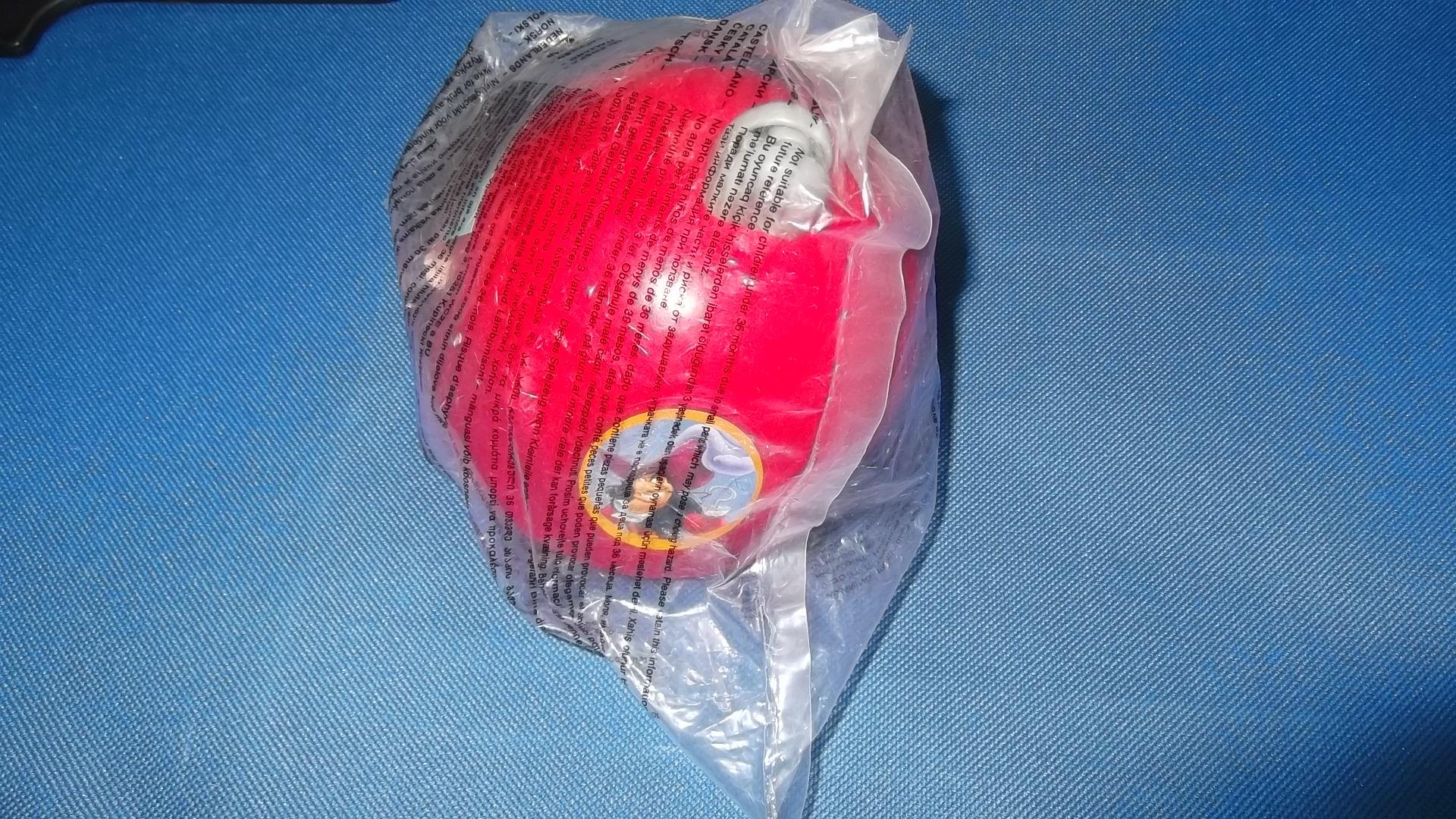 McDonalds Disney Princess & Disney Adventures Captain Hook's Hook Toy From 2004 New
