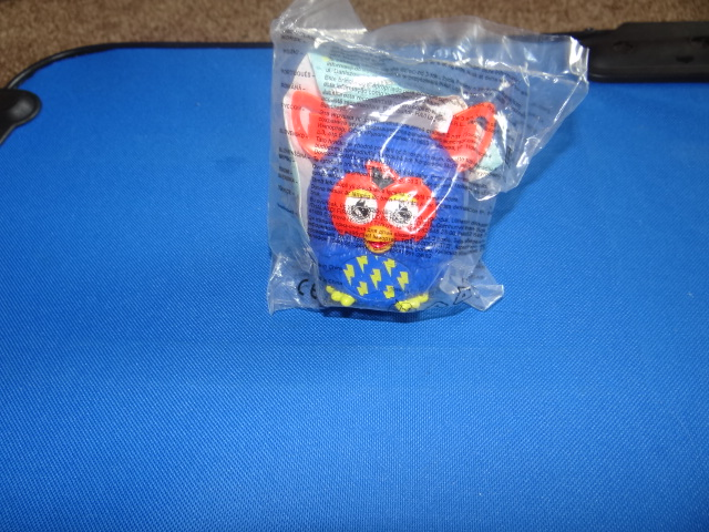McDonalds Furby Boom Customise Furby Boy - Royal Blue & Orange Furby Toy From 2013 New