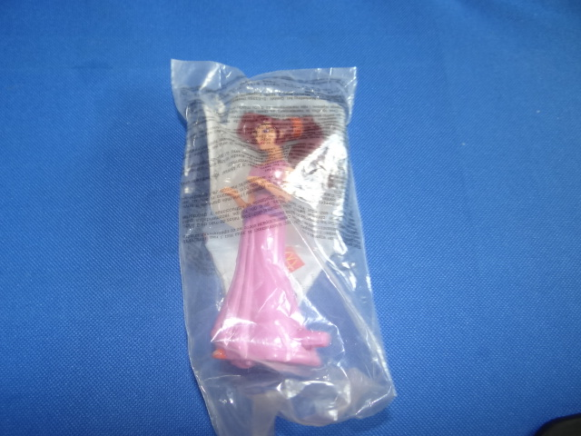 McDonalds Hercules Megara Toy From 1997 New