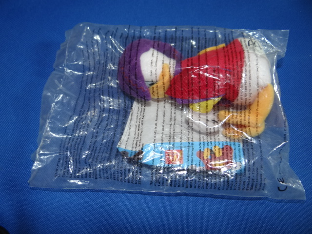 McDonalds Disneyland Paris Donald Duck Toy From 2000 New