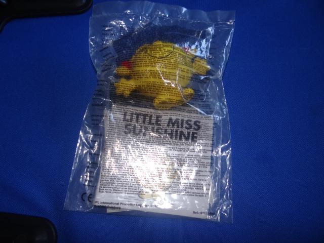 McDonalds Mr Men & Little Miss Little Miss Sunshine Toy From 2004 New