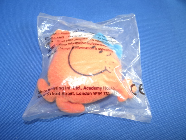 McDonalds Mr Men & Little Miss Little Miss Fun Toy From 1999 New