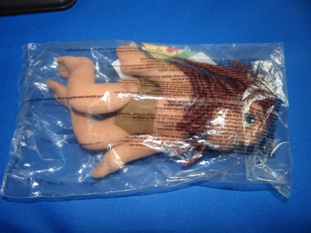 McDonalds Tarzan Young Tarzan Plush Toy From 2000 New
