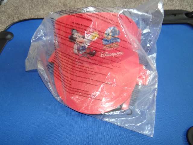 McDonalds Disneyland Paris Walt Disney Studios Red Director's Visor Toy From 2002 New