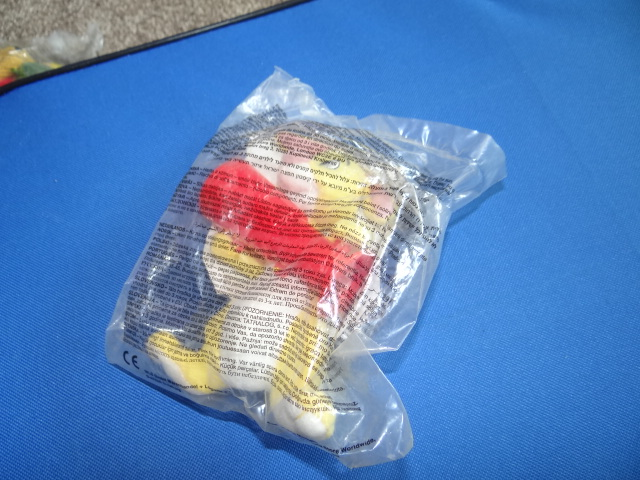 McDonalds Winnie The Pooh Science World Rabbit Toy From 2002 New