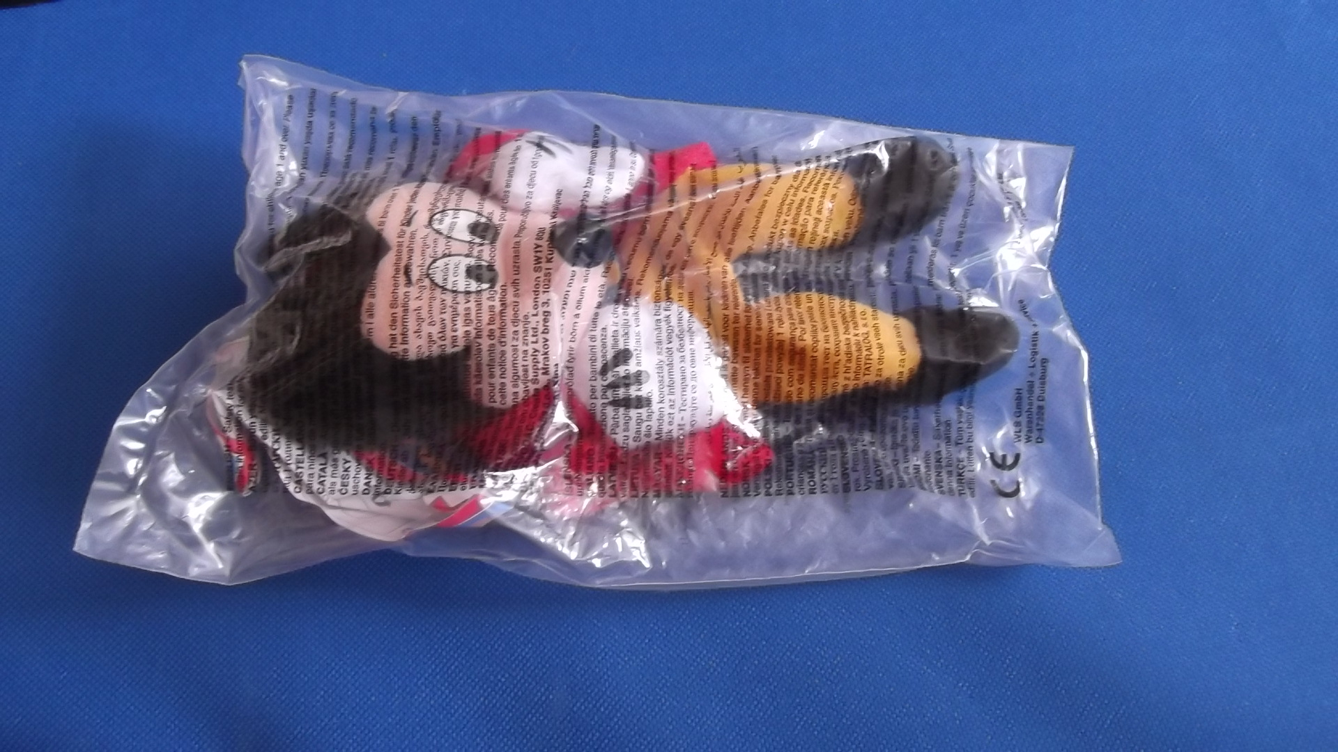 McDonalds Disneyland Paris Mickey Mouse Toy From 2001 New