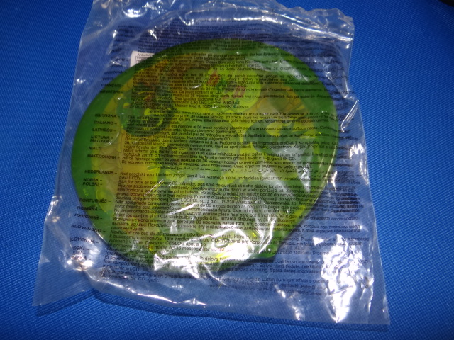 McDonalds Dragon CD-ROMS Green Case Toy From 2008 New