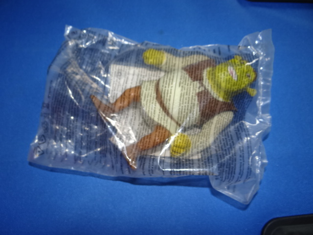 McDonalds Shrek The Third Shrek Toy From 2007 New