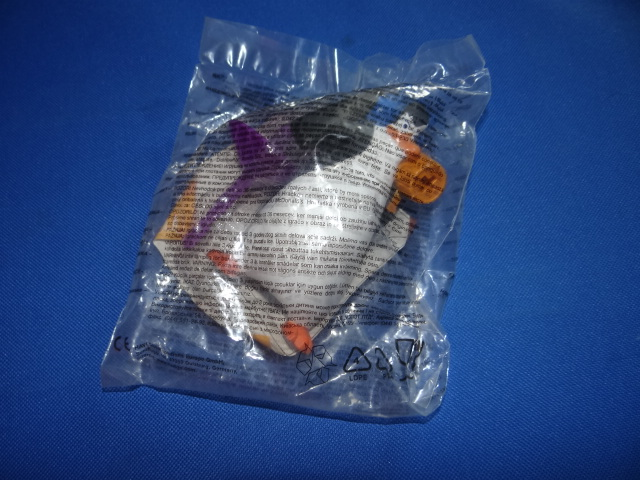 McDonalds Penguins Of Madagascar Launcher Toy From 2010 New