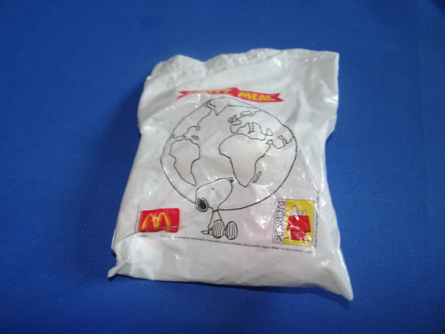 McDonalds Snoopy Around The World Scotland Toy From 1999 New