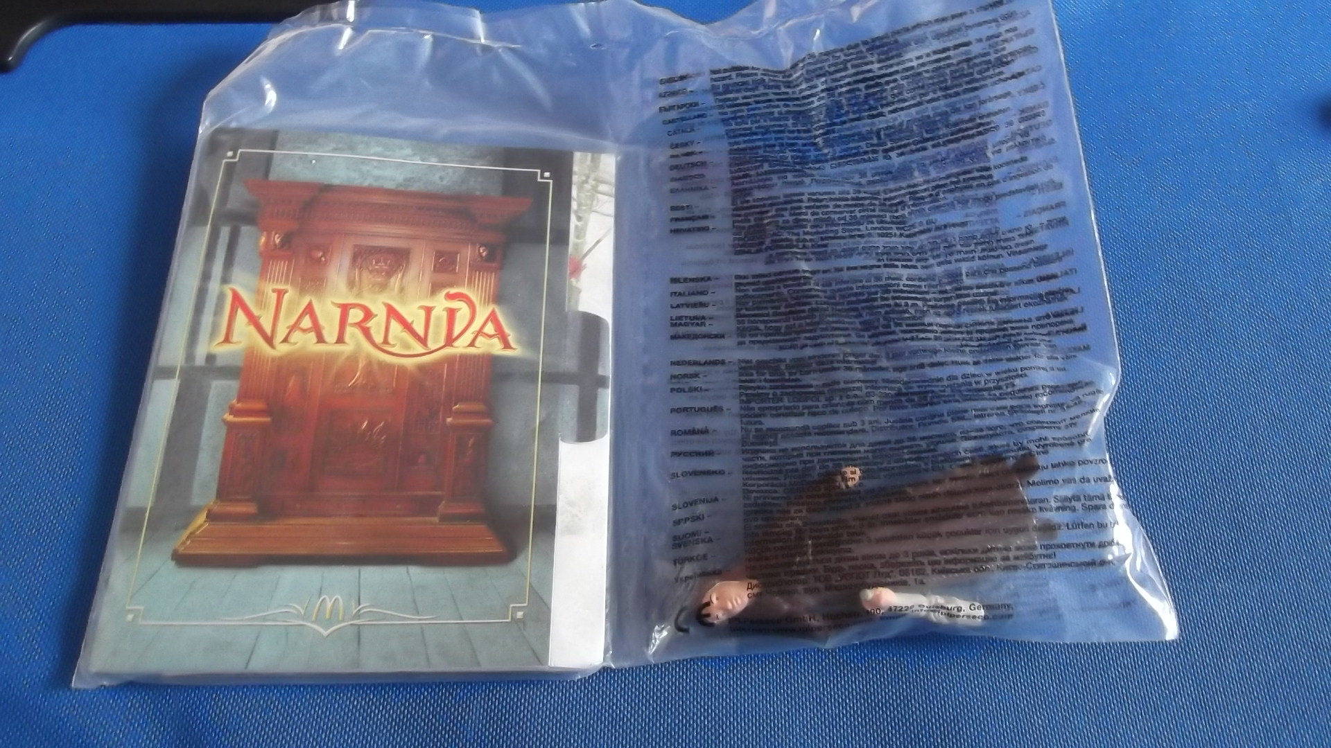 McDonalds Narnia Susan Toy From 2005 New