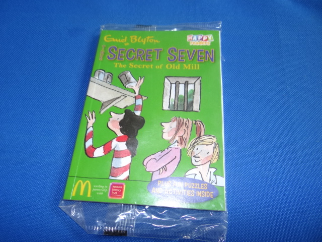 McDonalds The Secret Seven The Secret Of Old Mill Toy From 2014 New