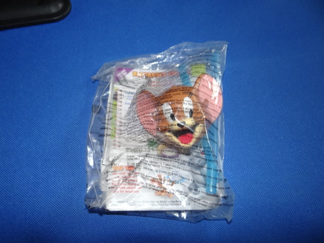 McDonalds Tom & Jerry - Crazy Chef Jerry Drinking Straw Toy From 2014 New