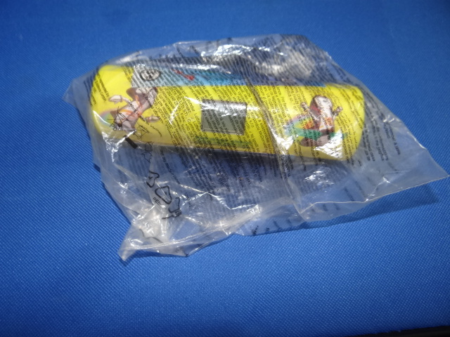 McDonalds Olympic Mascot-Athon Yellow Baton Toy From 2012 New