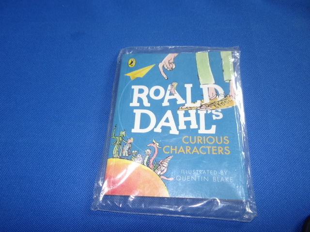 McDonalds Roald Dahl's Curious Characters Book Toy From 2015 New